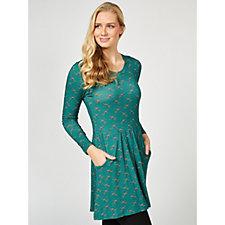 Joe Browns Pheasant Print Tunic Dress