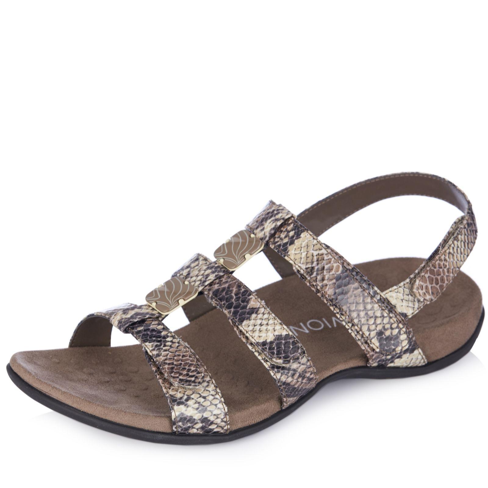 quite nice wide range recognized brands Vionic Orthotic Rest Amber Adjustable Sandal with FMT Technology ...
