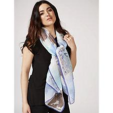 Pia Rossini Mya Crinkled Scarf with Gift Bag