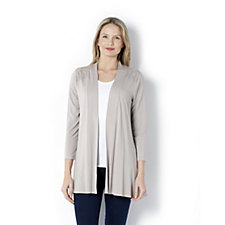 Together Jersey Cardigan with Lace Detail