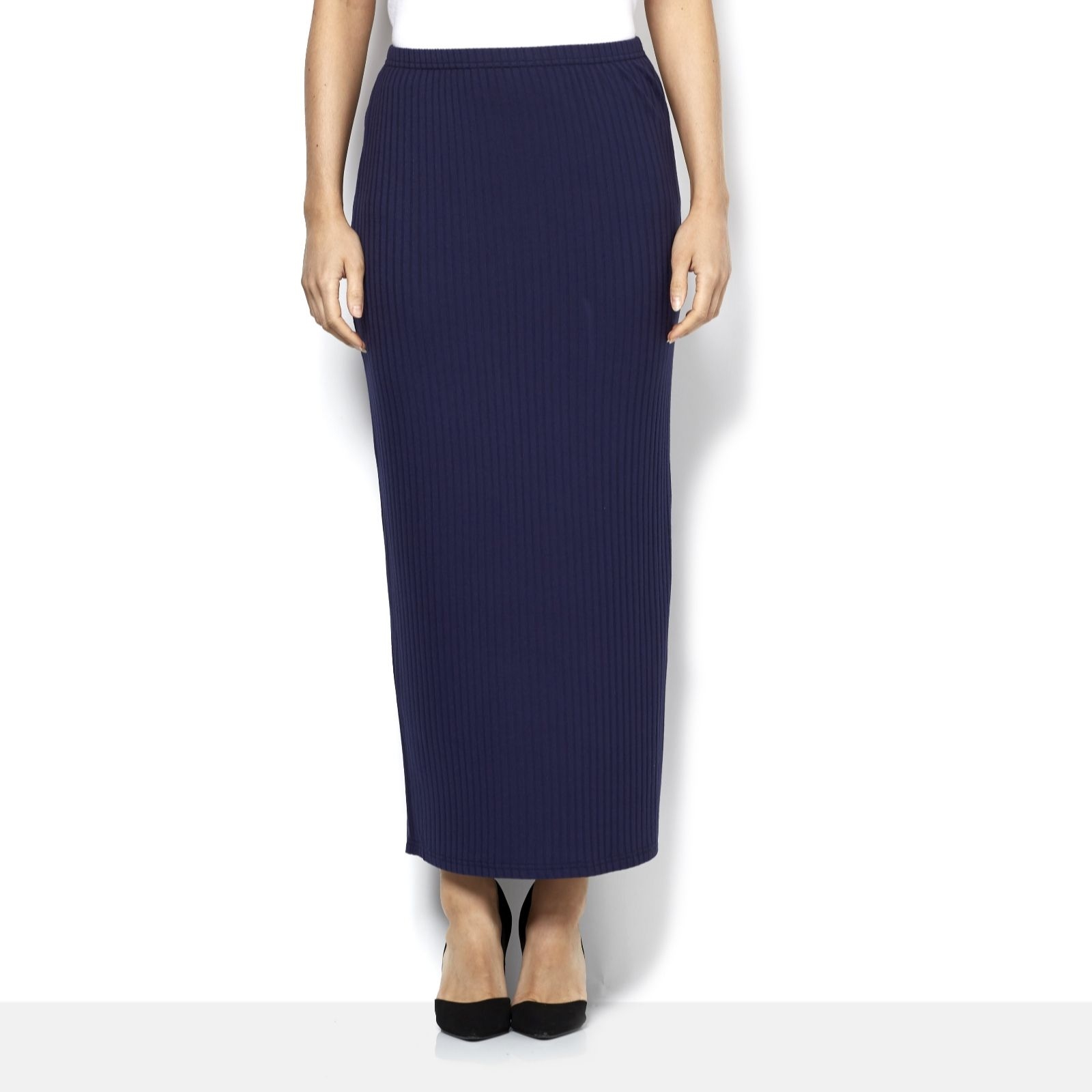 121aa9f29c Join Clothes Rib Jersey Maxi Skirt - Page 1 - QVC UK