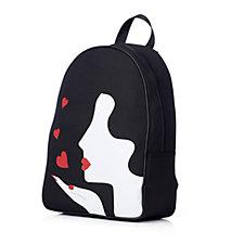 Lulu Guinness Kissing Cameo Girl Backpack