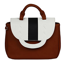 Danielle Nicole Leo Satchel Bag with Shoulder Strap