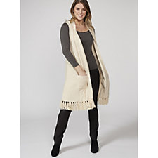 Together Knitted Waistcoat with Tassels