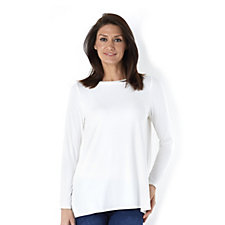 MarlaWynne Round Neck Butterfly Style Tunic