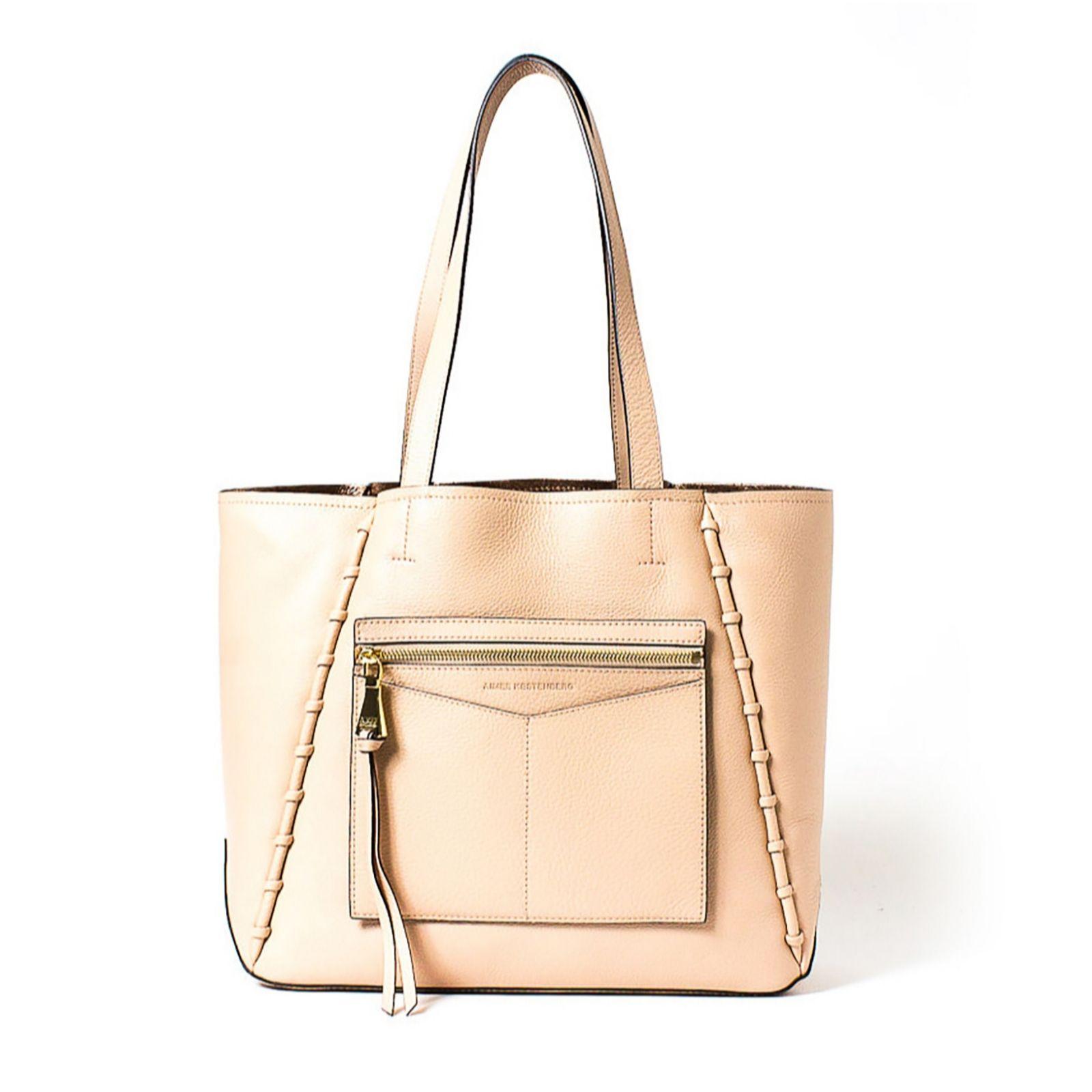 1b72f3f185 Aimee Kestenberg Delara Large Leather Double Sided Tote Bag ...