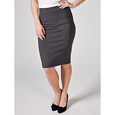 MarlaWynne Ponte Solution Pencil Skirt
