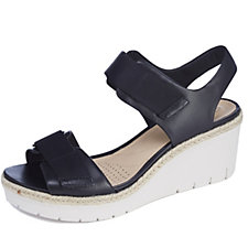 Clarks Palm Shine Wedge Sandal Standard Fit