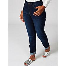 Denim & Co. Modern Denim Girlfriend Jeans