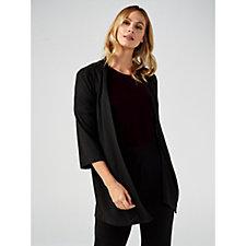 Kim & Co Soft Touch 3/4 Sleeve Cardigan