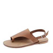 Emu Mado Leather Slingback Sandal with Toe Loop