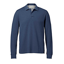 Charles Tyrwhitt Mens Pique Long Sleeve Polo