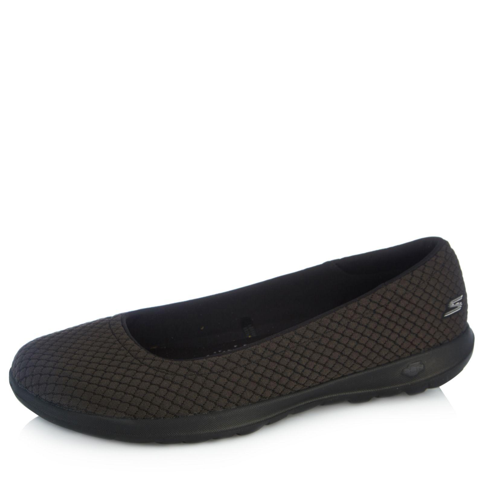 Promo-Codes schön in der Farbe Qualität und Quantität zugesichert Skechers Go Walk Lite Gemma Ballet Pump - QVC UK