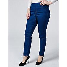 Denim & Co. Soft Stretch Straight Leg Regular Jeans