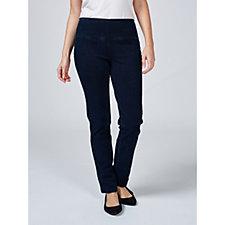 Women With Control Tummy Control Prime Stretch Slim Denim Regular Trouser