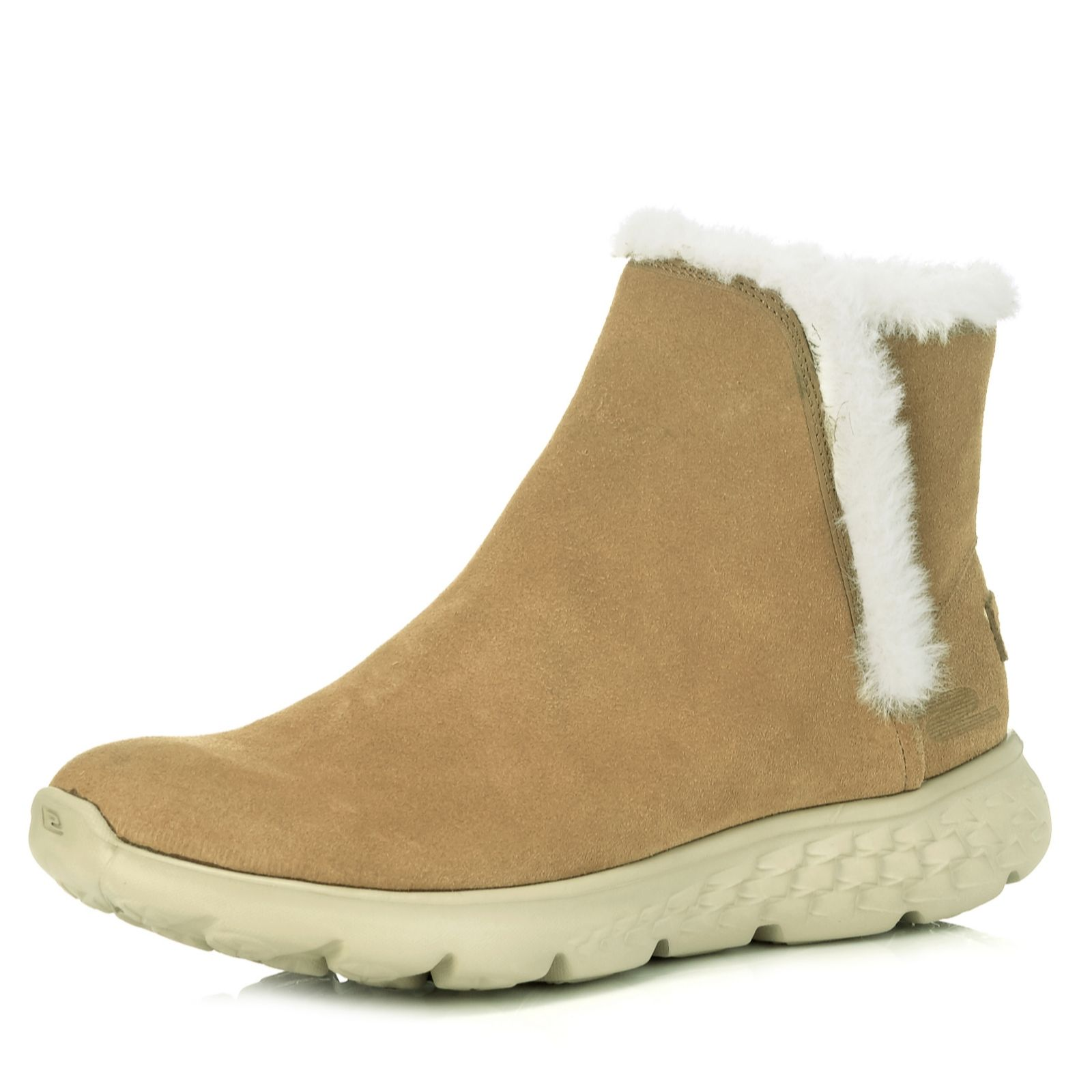 excellent quality complete range of articles durable modeling Skechers On the GO 400 Blaze Suede Ankle Boot with Faux Fur Lining - QVC UK