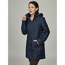Centigrade Lightweight Polyfill Quilted Jacket with Jersey Lining