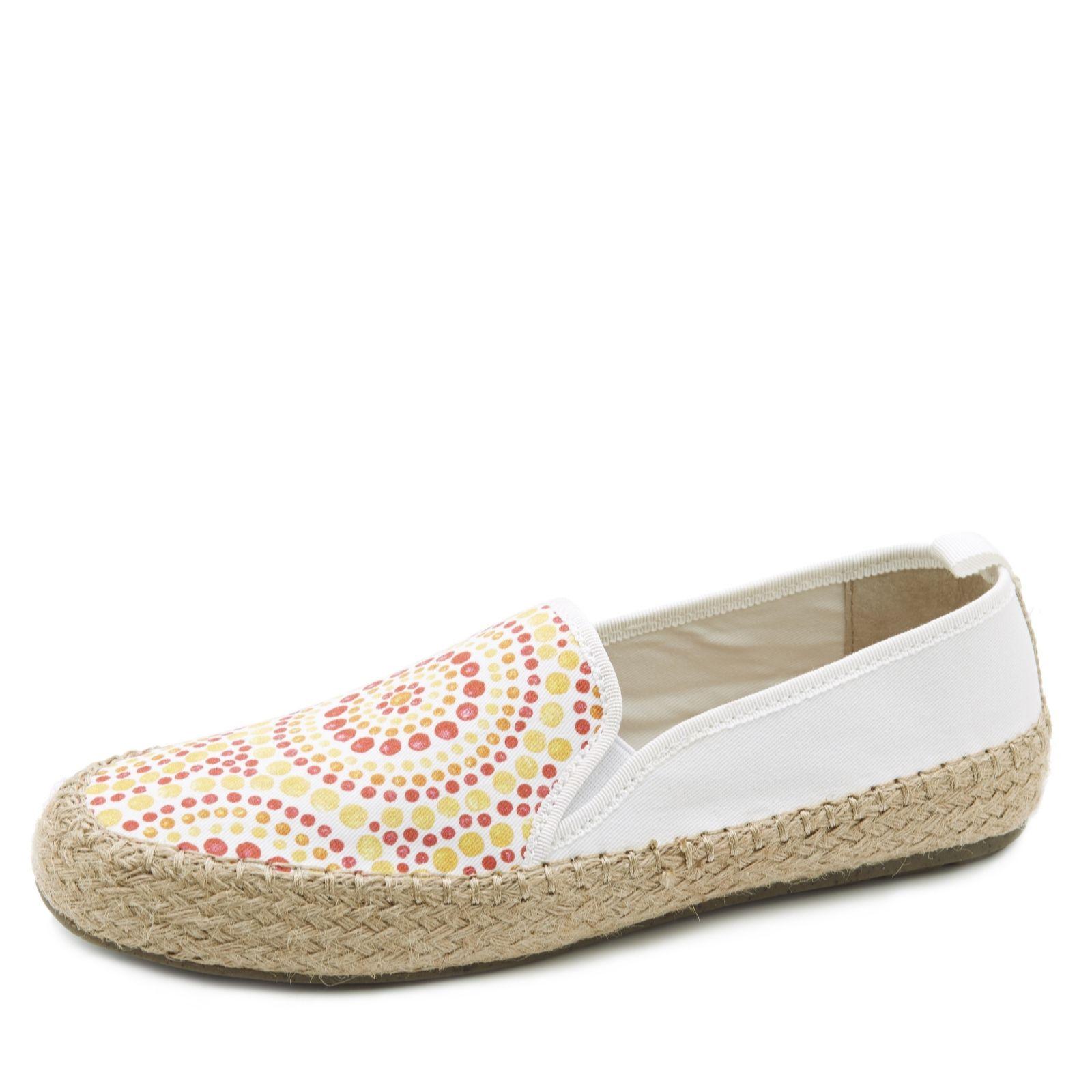 d9373678b9 Emu Gum Espadrille Style Slip On Shoe - QVC UK