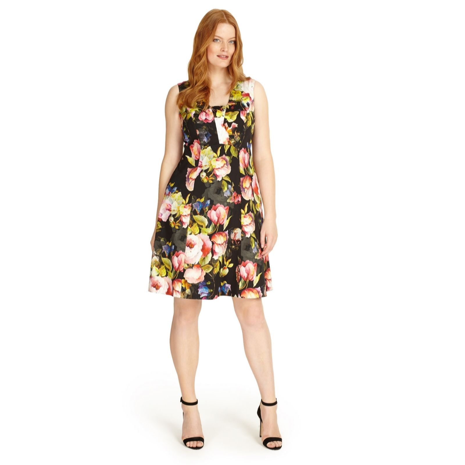 new lifestyle wide varieties drop shipping Studio 8 by Phase Eight Printed Amara Dress - QVC UK