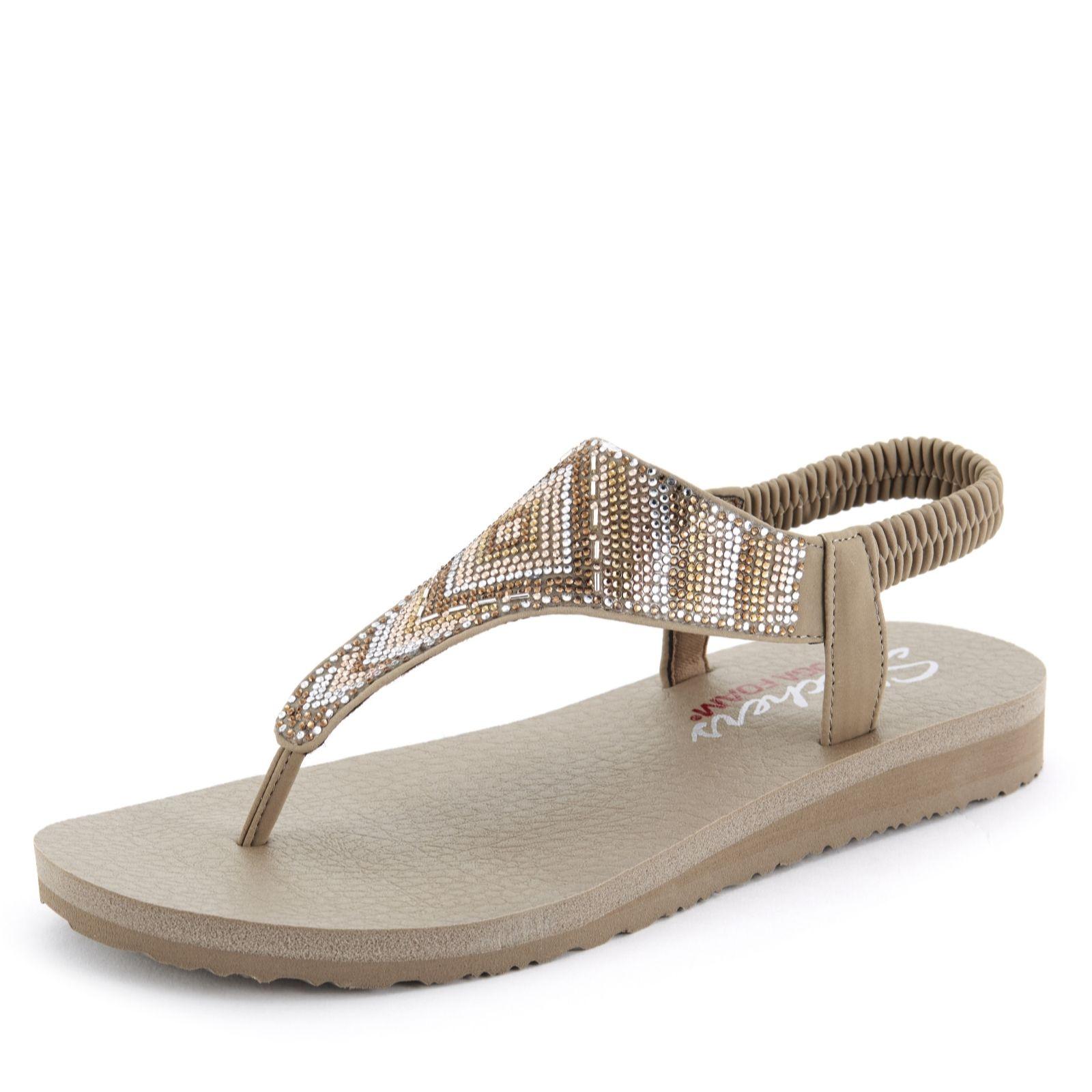 3f16a853c4e3 Skechers Meditation Gypsy Glam Aztec Rhinestone Sling Back Sandal ...