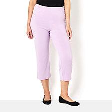 Fluid Jersey Crop Trouser by Michele Hope