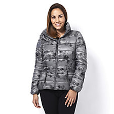 Rino & Pelle Floral Printed Puffer Jacket