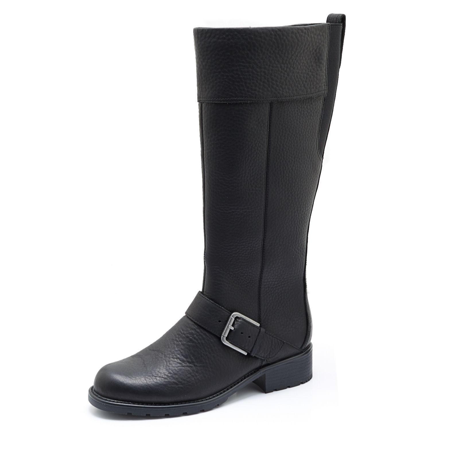 a5b77975829 Clarks Orinoco Jazz Knee High Boot - QVC UK