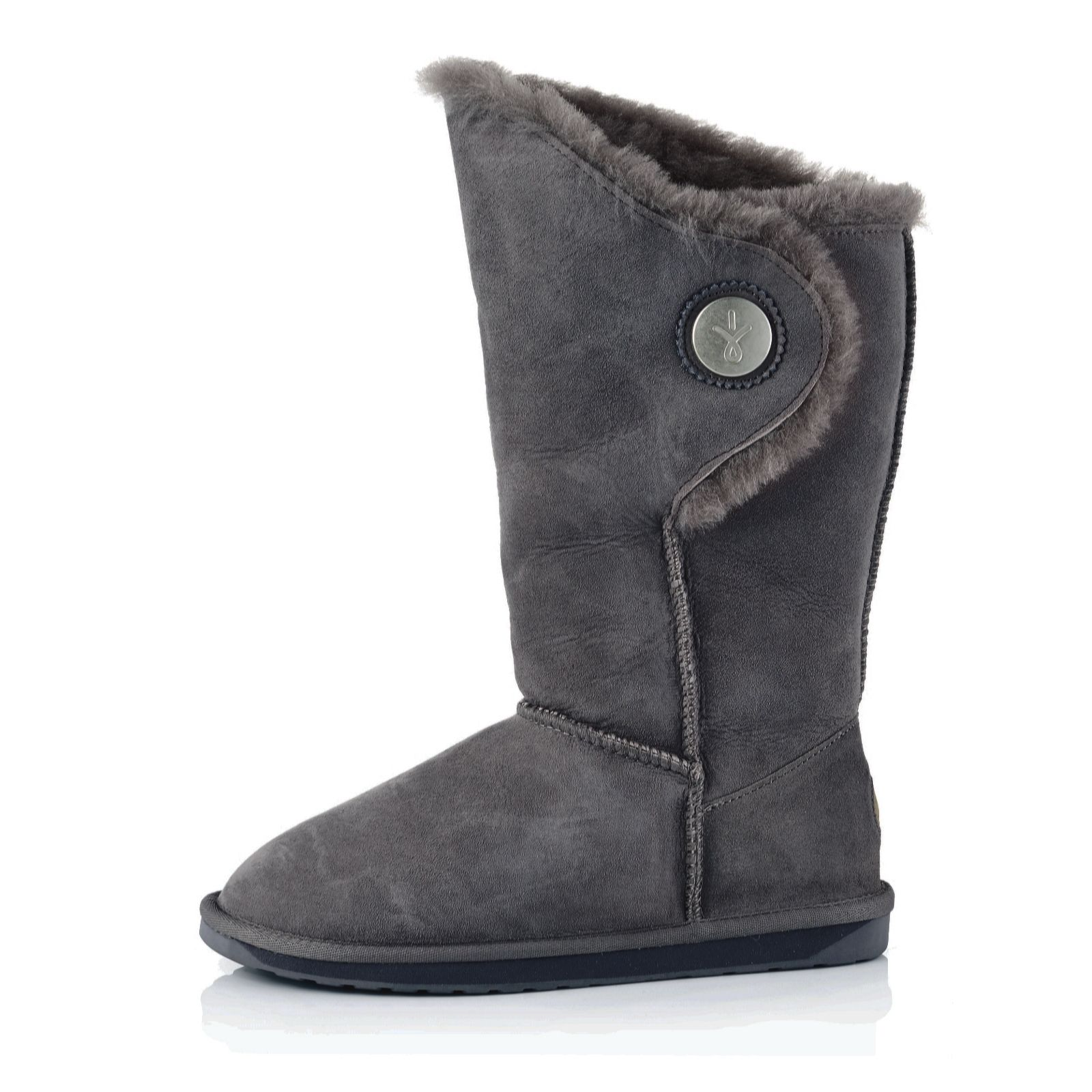 9bb2159cbe7 Emu Originals Hakea Hi Water Resistant Sheepskin Boots - Page 1 - QVC UK