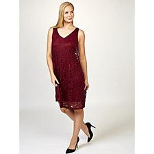 Ronni Nicole Sleeveless Stretch Lace Swing Dress