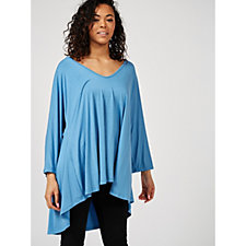 Join Clothes High Low Hem Jersey Tunic