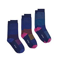 Joules Mens Socks & Shares 3 Pack Mens Socks