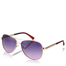 Ruby Rocks Dominica Aviator Sunglasses