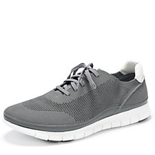 Vionic Orthotic Men's Fresh Tucker Suede Lace Trainer w/ FMT Technology