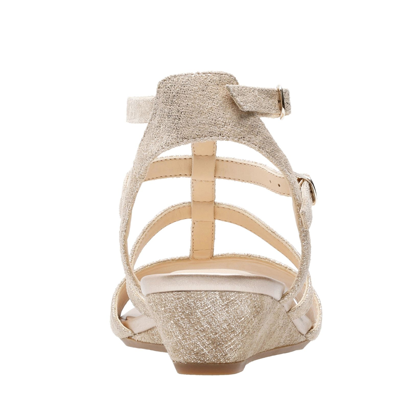 530085fa98f3 Clarks Parram Spice Strappy Sandal Standard Fit - QVC UK
