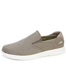 Skechers On The GO Men's Glide Victorious Washed Canvas Slip On Shoe