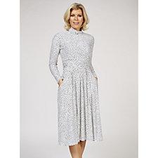 Lauren Dot Dress by Onjenu London