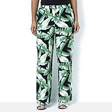 C. Wonder Printed Full Leg Pull On Trousers Regular