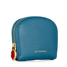 Lulu Guinness Crescent Leather Purse