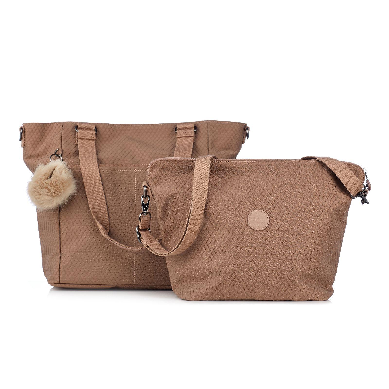 Kipling Audria Premium Large 2 in 1 Tote Bag with Shoulder Strap ... fe53e1b14a222