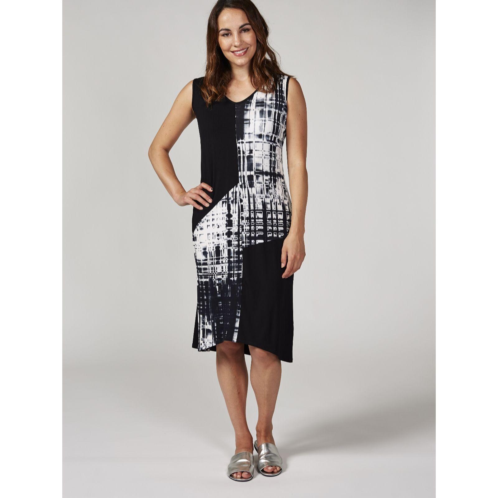 dbbf21aca2b Mr Max Drape Colour Block Dress - QVC UK