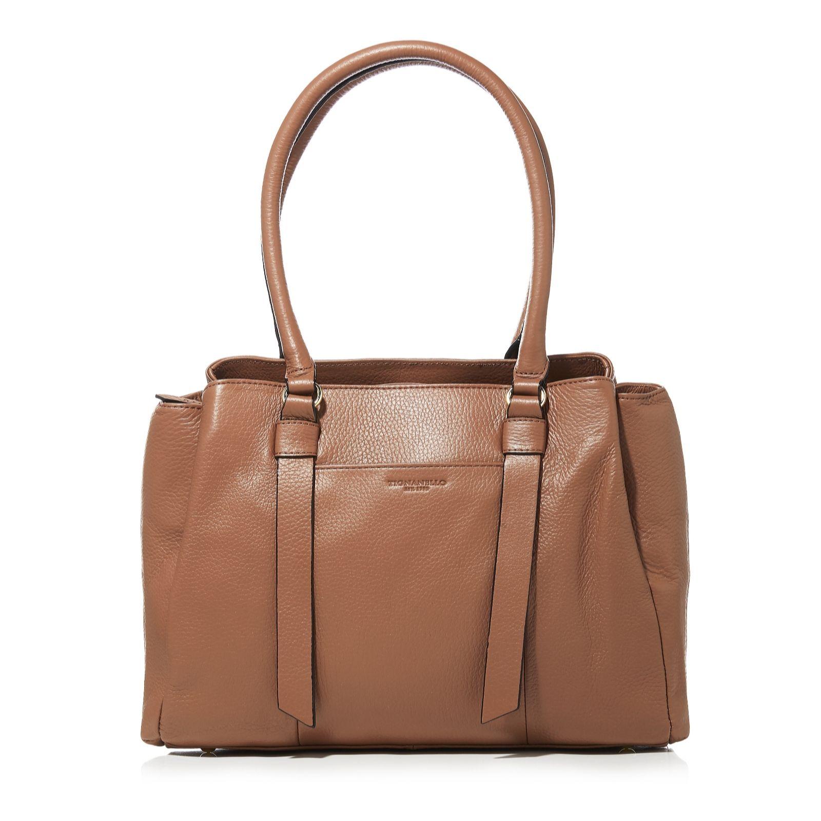 42e4c4dca3 Tignanello Amber Triple Compartment Shoulder Bag - QVC UK