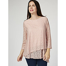 Together Dobby Effect Jersey Top