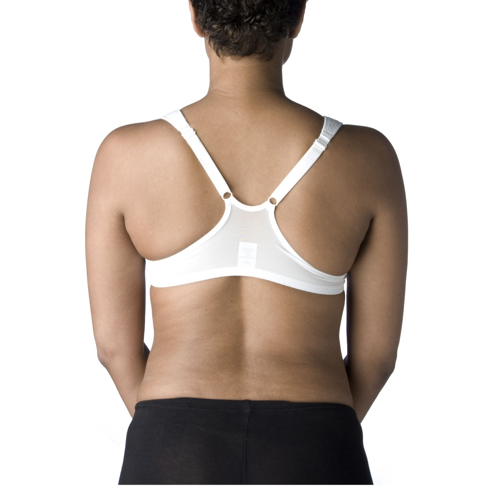 481fae48ad5f1 Breezies Seamless Lace Front Closure Bra in White - QVC UK