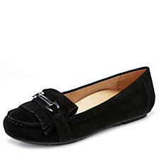 Vionic Orthotic Chill Suede Loafer with FMT Technology