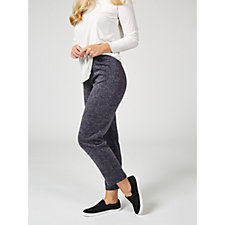 Kim & Co Shimmer Sweater Jersey Straight Leg Trousers
