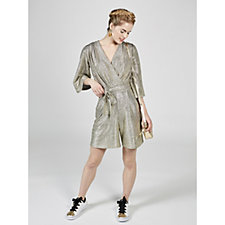 Metallic Playsuit by Onjenu London