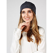 Kim   Co Shimmer Sweater Jersey Hat 371342f289e6