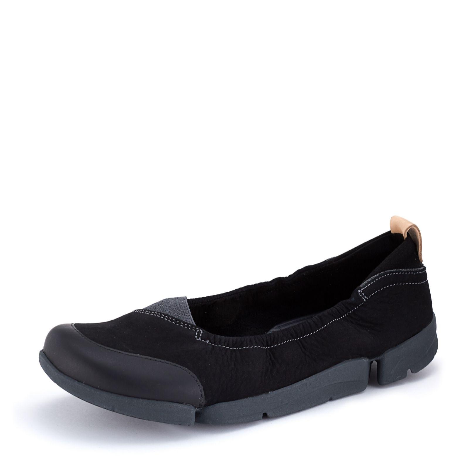 a4e0bee34d Clarks Tri Adapt Ballerina Shoe Standard Fit - QVC UK