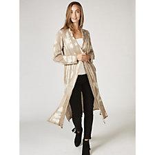 MarlaWynne Jacquard Sweater Knit Duster