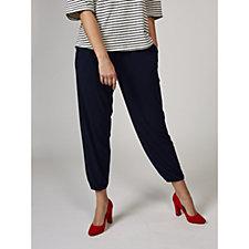 Kim & Co Brazil Knit Blouson Leg Trousers with Pockets